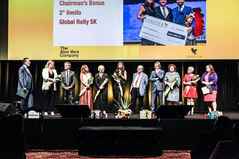 Global Rally Forever Living Products Italia