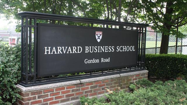 harvard business school network marketing